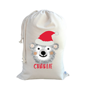 .Christmas Santa Sack Personalised - Bear