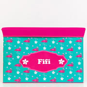 Storage Box Personalised for Kids  - Flamingo