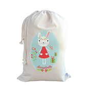 .Christmas Santa Sack Personalised - Bunny