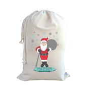 .Christmas Santa Sack Personalised - Santa Claus