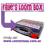 Personalised Loom Band Storage Box and Carry Case - Frozen Design - Magenta