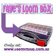 Personalised Loom Band Storage Box and Carry Case - Frozen Design - Orchid