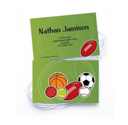 Personalised Bag Tags All Sports Balls - Luggage Tag