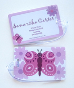 Personalised Bag Tags Butterfly - Luggage Tag