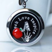 Floating Memory Locket Readymade - Teacher gift