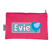 Pencil Case Large - Bluebird Choice of hot pink or navy