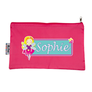 Pencil Case Large - Fairy Blonde Choice of hot pink or navy