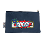 Pencil Case Large - Super Hero Choice of hot pink or navy