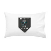 .Personalised Pillowcase for Fathers Day  - Best Dad Ever