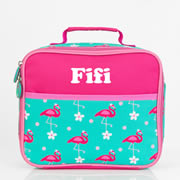 Pre School Lunch Bag / Lunchbox Personalised - Flamingo