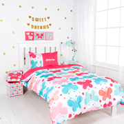 Personalised Quilt Cover Set Single - Butterfly Kisses
