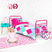 Personalised Quilt Cover Set Double - Diamond Confetti