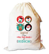 Christmas Santa Sack Personalised - Fill This Bag