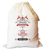 Christmas Santa Sack Personalised - Overnight Express