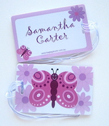 Personalised Bag Tags Butterfly - Bag Tag