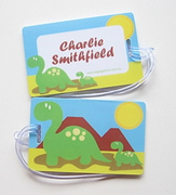 Personalised Bag Tags Dinosaurs - Bag Tag