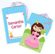 Personalised Bag Tags Fairytale Princess - Bag Tag