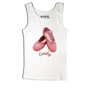 Ballet - Singlet Personalised for Kids