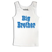 Big Brother - Singlet Personalised for Kids
