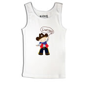 Cowboy - Singlet Personalised for Kids