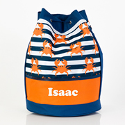 Crabby - Personalised Kids Swim Bag
