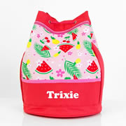 Tropical - Personalised Kids Swim Bag