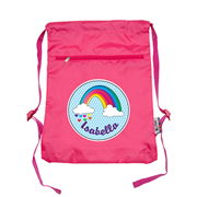 Personalised Kids Swim Bag -  Rainbow