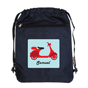 Personalised Kids Swim Bag -  Scooter