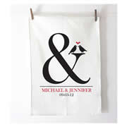 Personalised Tea Towel - Ampersand
