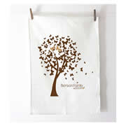 Personalised Tea Towel - Butterfly Tree