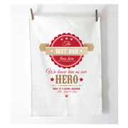 Personalised Tea Towel - Hero