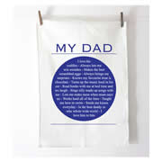 Personalised Tea Towel - My Dad