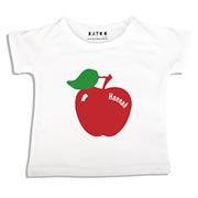 Personalised clothing for kids - Apple - T-Shirt Personalised for Kids