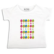 Personalised clothing for kids - Doughnuts - T-Shirt Personalised for Kids