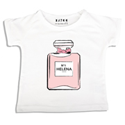 Personalised clothing for kids - E Du Parfum - T-Shirt Personalised for Kids
