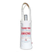 Personalised Wine Carry Bag - Male Amazing Teacher