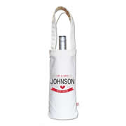 Personalised Wine Carry Bag - Mr & Mrs