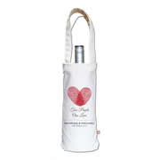 Personalised Wine Carry Bag - Two People One Love
