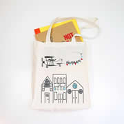 Personalised Library Bag - Flying High