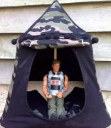 Kids Mini Play Tent Teepee - Action Man Camo Design