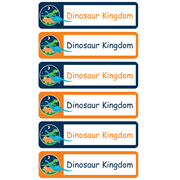 Personalised School Labels Dinosaur Kingdom - Labels Vinyl Mighty 96 labels free shipping