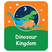 Personalised School Labels Dinosaur Kingdom - Shoe Labels 15 pairs free shipping