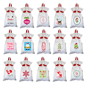 Santa Sack - Personalised Available in 19 designs