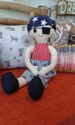 Softie Doll - Pirate Jack - 45 cms