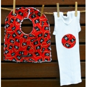 Bib and Singlet Set - Pirate