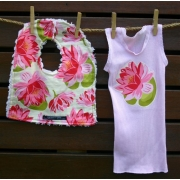 Bib and Singlet Set - Waterlily