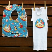 Bib and Singlet Set - Rocket Rascals