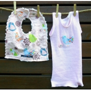 Bib and Singlet Set - Starling Bird