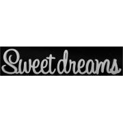 "Freestanding Block / Word ""Sweet Dreams"" choose your colour"