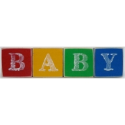 .Wooden Blocks Primary Colours BABY (SMALL)